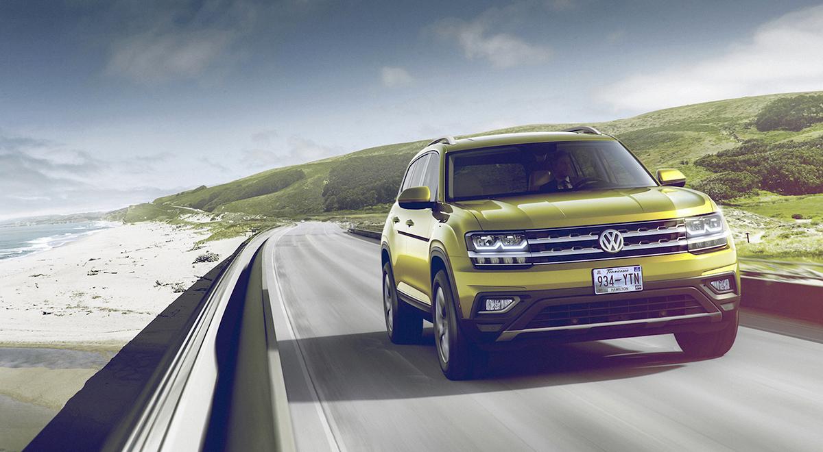 Обзор нового VW Teramont