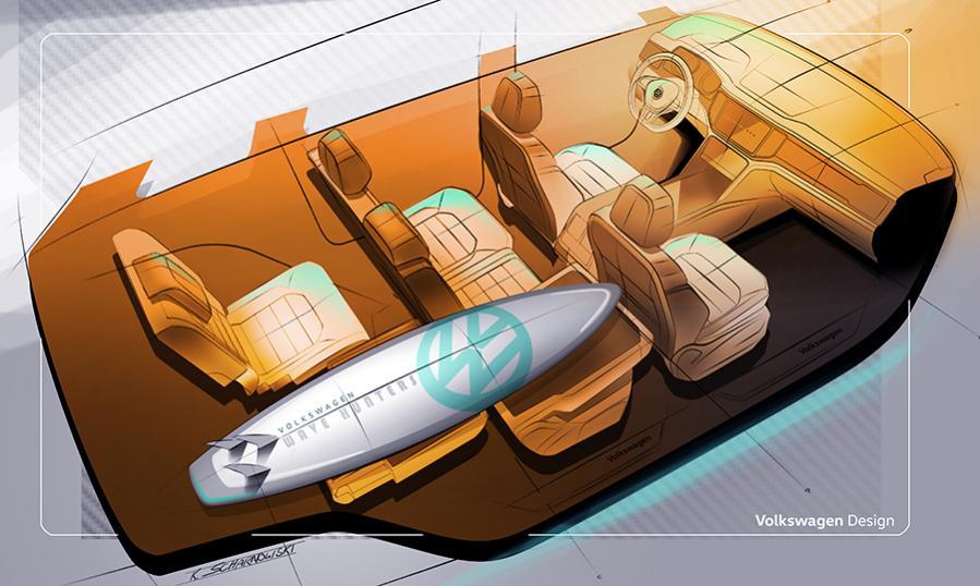 Габариты VW Teramont