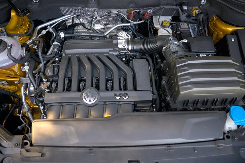 Volkswagen Teramont под капотом