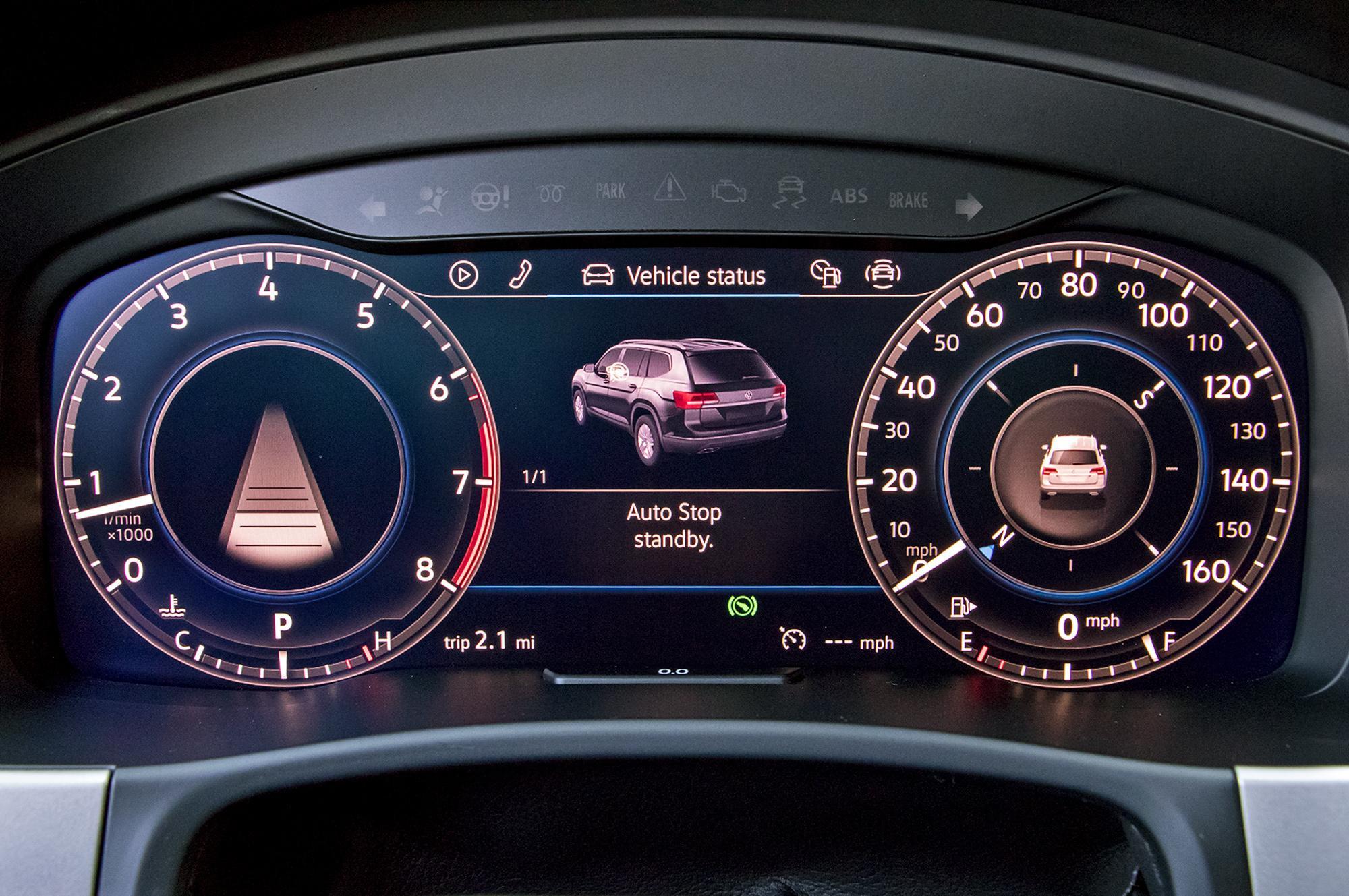 Панель приборов VW Teramont