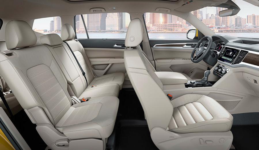 Интерьер VW Teramont