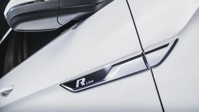 Volkswagen Teramont (Atlas) R-Line logo